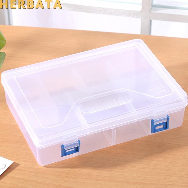 dupla camada transparente a prova dstudent agua caixa de armazenamento de plastico estudante unisex caso de
