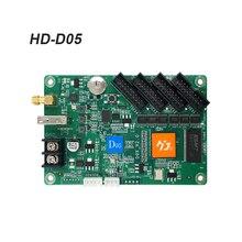 Huidu full color control HD-D05 High Performance Strip Screen Controller  for small screens  door screen signboard screen