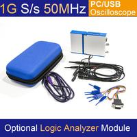 LOTO USB/PC Oscilloscope OSC2002, 1GS/s Sampling Rate, 50MHz Bandwidth, for automobile, hobbyist, student, engineers