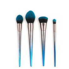 Makeup Brushes Set For  Gradient Color Foundation Powder Blush Eyeshadow Concealer Lip Eye Make Up Brush Cosmetics Beauty Tool pro fan brush 7pcs bamboo handle makeup eyeshadow blush concealer brushes set powder foundation facial multifunction beauty tool