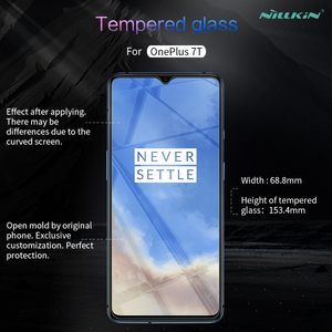 Image 5 - الزجاج المقسى ل OnePlus 7T One Plus 7T 6.41 NILLKIN مذهلة H/H + PRO/XD + 9H واقي للشاشة OnePlus 7T الزجاج