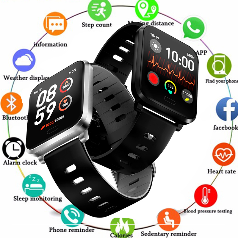 New Y6 Pro Smart Bracelet Heart Rate Blood Pressure Oxygen Fitness Tracker Watch Waterproof Sports Band Sport watch