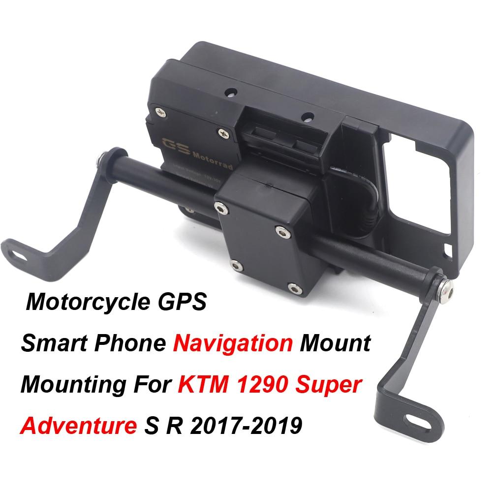 motorrad gps halterung für ktm 1290 super adventure r 2017-2019