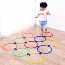 Children's sports toys hopscotch ring lattice kindergarten f