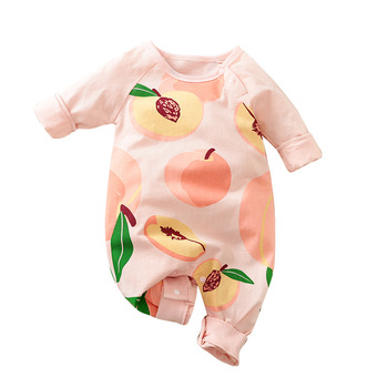 New born Baby Boy Clothes Fall Onesie Print Romper Infant Jumpsuit Newborn Girl Costume Pajamas Babygrow Things Outfit Overalls image