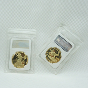 with copy non magnetic 1 Oz Gold Plated 2011 American Liberty Eagle Coin Bullion Souvenir With PCCB Case 10pcs lot 2016 australia 1 oz silver coin mint 1 oz 999 sliver australia wedge tailed eagle good quality copy sliver coin