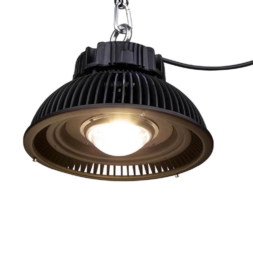 Светодиодсветильник лампа для гидропоники CXM32, 285 Вт, 3500 К, COB