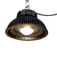 Luz LED de cultivo hidropónico de espectro completo, 285W, 3500 lúmenes, CXM32 COB, lámpara LED de cultivo para plantas de invernadero de interior, crecimiento de plantas