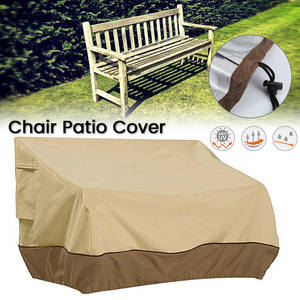 Furniture-Cover Sofa Garden Chair Drawstring-Table Patio Foldable Outdoor Waterproof