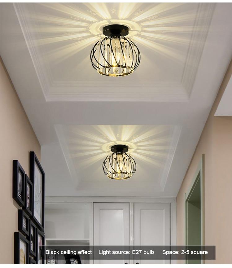 Luminária de teto de led estilo nórdico