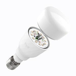 Image 4 - [İngilizce Sürüm] Yeelight akıllı led ampül Renkli 800 Lümen 10W E27 Limon Akıllı Lamba Mi Ev App Için Beyaz /RGB Seçeneği