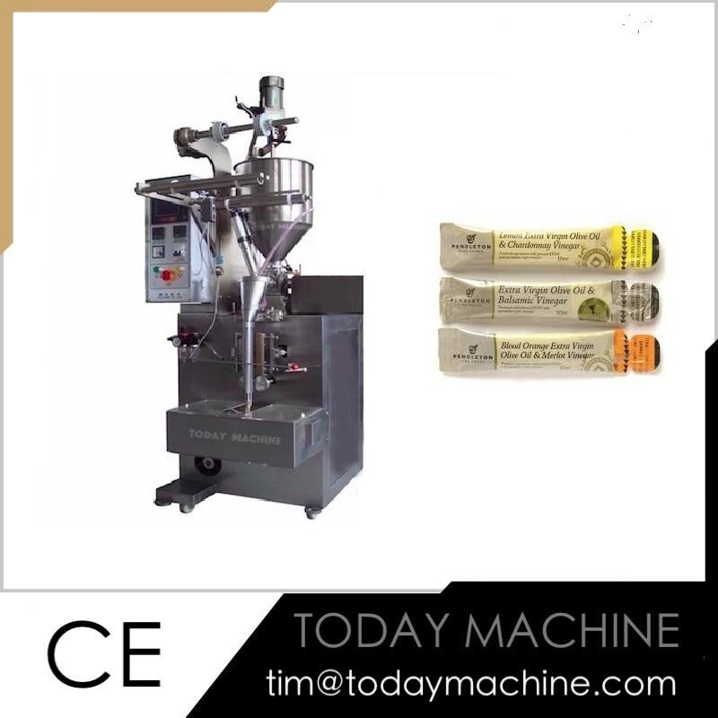 Automatic Irregular Shaped Liquid Sugar Cane Juice Stick Bag Packing Machine