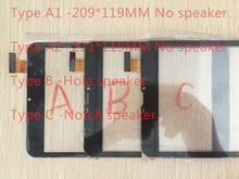 8 дюймов WGJ80095 Супра M843G DEXP Ursus Z180 3G планшет сенсорный экран панель дигитайзер XC-PG0800-011FPC-A0 XC-GG0800-008-V1.0 080291