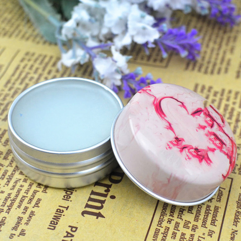 1PC Solid Perfume For Men Women Floral Portable Round Box Containers Fragrance Skin Body Balm Care Lasting Oil  Deodorants