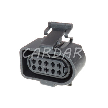 1 Set 10 Pin 1.5mm 3A0 973 715 Waterproof Automotive Connectors Sealed Plug 3A0973715 Socket For VW image