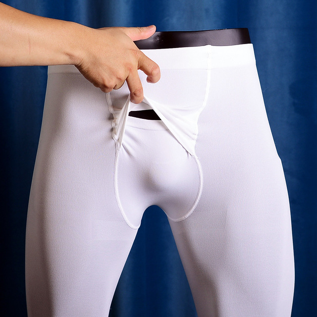 Mens Bottoming Socks Velvet Mens Underwear Horizontal Front Fly Stockings Threshold Pantyhose Tights Leggins Masculina