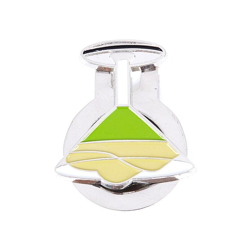 Magnetic Cap Cap Movable Metal Golf Light Green Wine Cup Marker Set