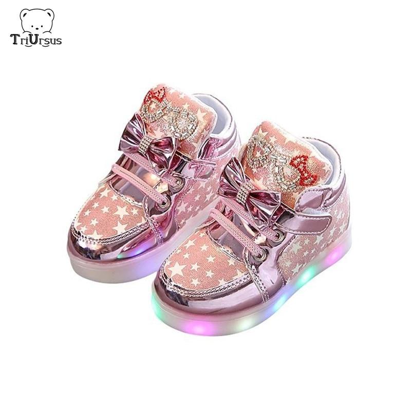 Childrens Light Shoes Kids Toddler
