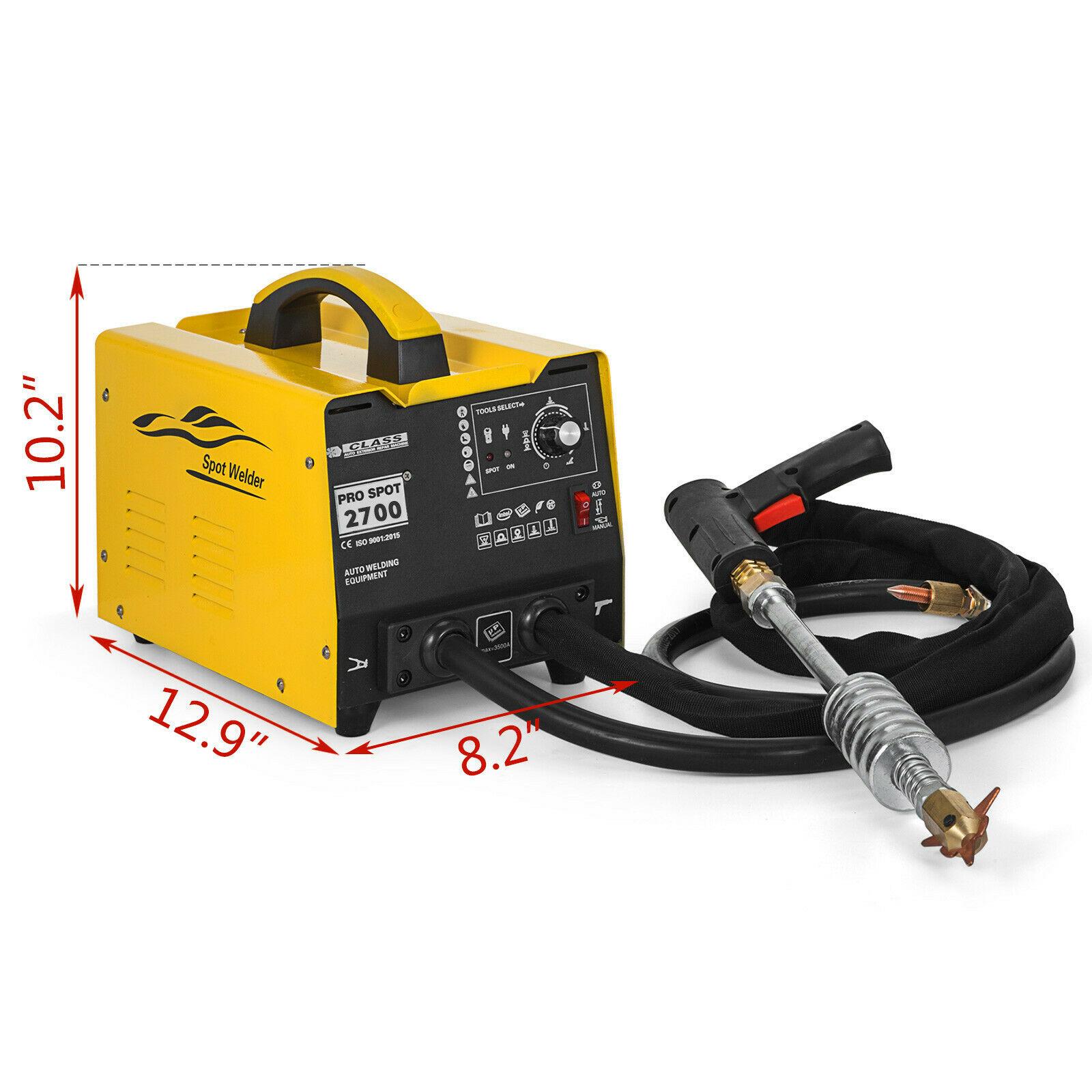 Tools : Dent Pulling 2700 Spot Puller Bonnet Dent Repair Stud Welder