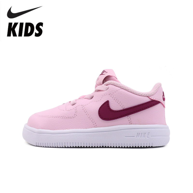 Nike Air  Force 1 2019 Original Kids Skateboarding Shoes Comfortable Sports Sneakers #905220-605