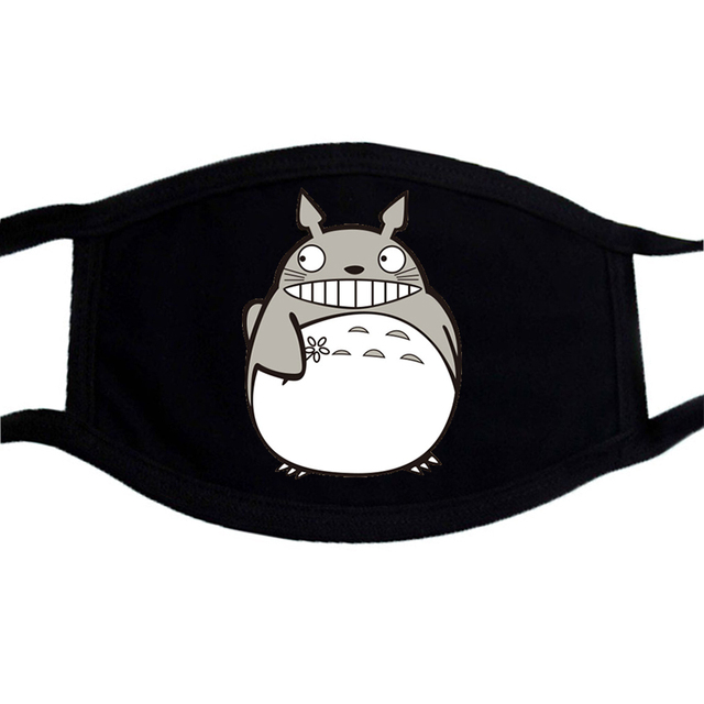 Cartoon Funny Face Mask Dragon Ball Face Masks Japan Anime Washable Unisex Mouth Muffle Mask Dust Proof  Winter Warm Masks