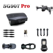Origianl 7.6 V 1600 mAh bateria litowa do SG907 Pro 5G GPS składany dron części zamienne 2s 7.6 v bateria do SG-907 Pro