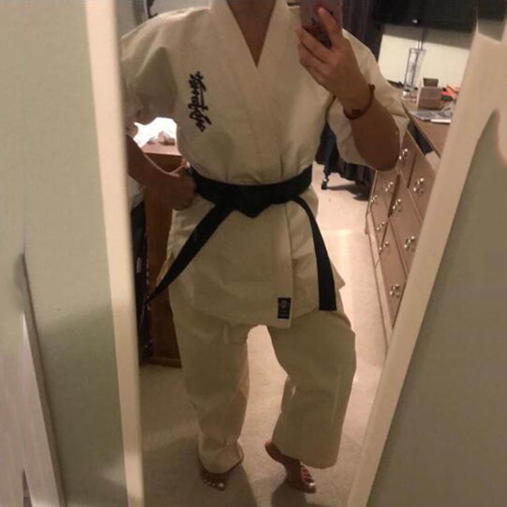 High Quality Kyokushinkai dogi Dobok 12oz 100/% Cotton Canvas Karate Uniform