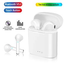 i7s TWS Wireless Bluetooth Earphone In-ear Binaural call headphones Stereo Gaming Sport Earbuds for iPhone Xiaomi huawei samsung geofox wireless earphone bluetooth earbuds in ear stereo sound sport earphone i7s tws for samsung iphone