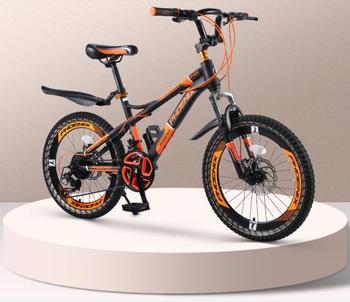 12 14 16 18 inch folding bicycle kids cycling bike student bicycle for boys and girls light folding bike gift for children Children's mountain bike bicycle variable speed boys and girls teenagers cycling