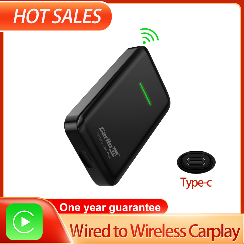 Carlinkit 2 0 Version Wireless Carplay Adapter Dongle For Car Audi VW Original Car Has Wired Carplay Built-in Wired to Wireless