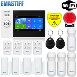 Home Security PIR MP Alert Infrarot Sensor Anti-diebstahl Motion Detektor Alarm Monitor Drahtlose Alarm system + 2 fernbedienung control
