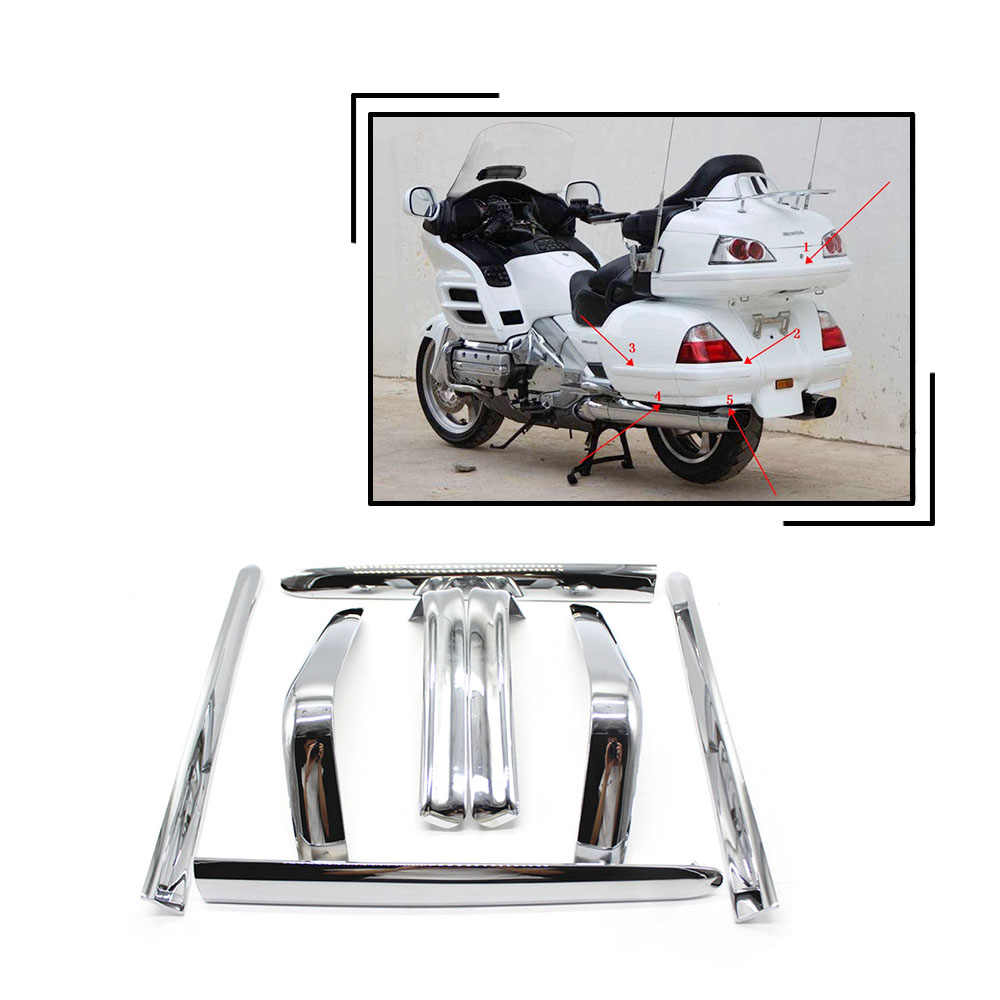 Fairing Saddlebag Light Accents Trims for Honda Goldwing GL1800 2001-2005