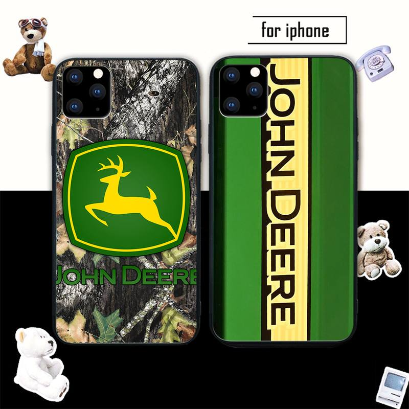 john deere Smart mobile phone cover case for iphone se 2020 6 6s 7 8 plus x xs max xr 11 12 pro max coque