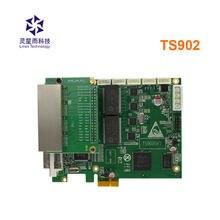 Linsn ts902 ts902d polychrome ÉCRAN VIDÉO LED carte d'envoi même ts952 lecteur boîte support 4k entrée travailler avec rv801d rv901 rv801