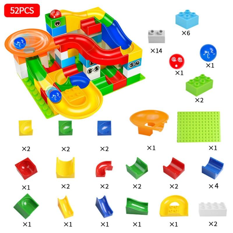 blocos de construção funil plástico slide tamanho