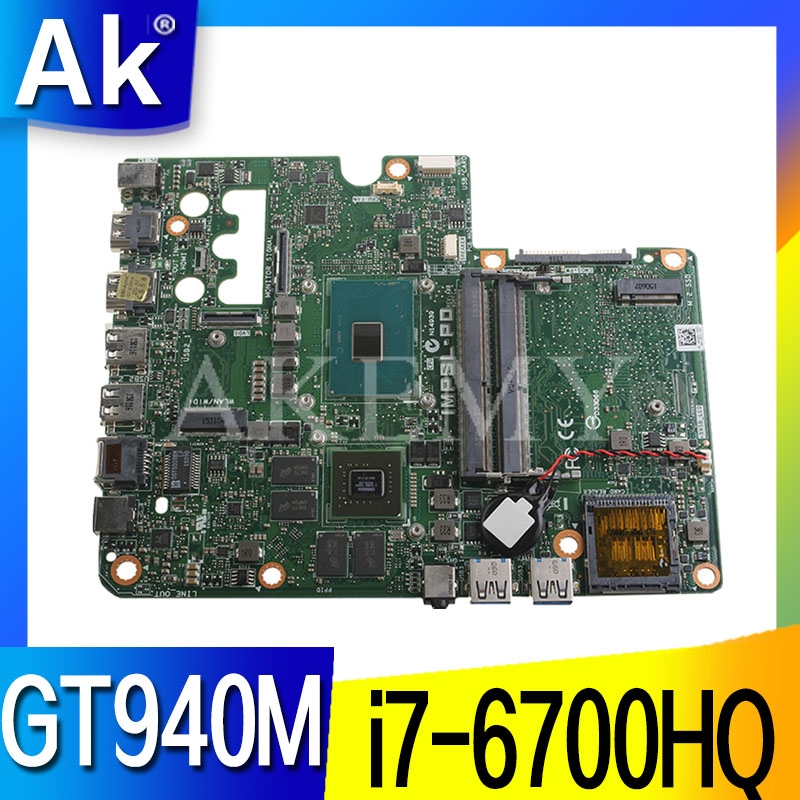 Original FOR Dell Inspiron 24 7459 motherboard WITH <font><b>I7</b></font>-<font><b>6700HQ</b></font> <font><b>CPU</b></font> 0503P4 503P4 CN-0503P4 Test OK image
