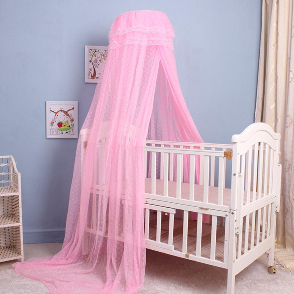 Kidlove Baby Bed Canopy Crib Tent Support Summer Infant Mosquito Net Holder Lightweight Mosquito Netting Holder