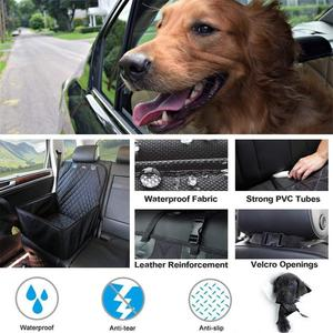 Image 5 - 2 in 1 Car Front Pet Car Seat Cover Waterproof Puppy Basket Anti Silp Pet Car Carrier Dog Cat Car Booster Outdoor Travel