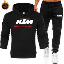 Inverno autm movimento 2 peças define agasalho dos homens moletom + calças pulôver com capuz roupas esportivas terno casual tamanho S-3XL