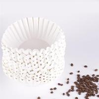 500Pcs 25Cm Sheets American Commercial Coffee Filter Paper Basket Coffee Filters Coffee Ware Coffee Filters (White)|Coffee Filters|Home & Garden -