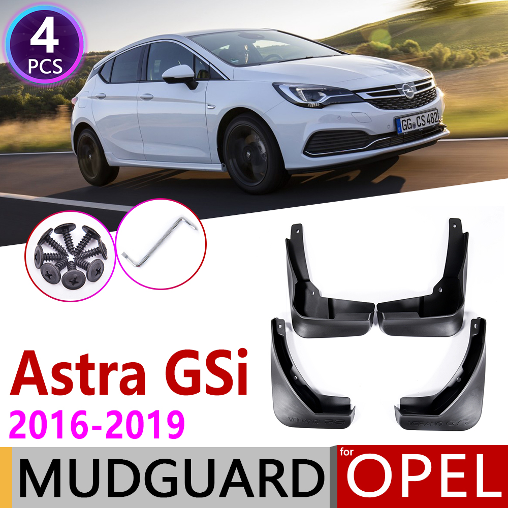 For Opel Vauxhall Astra K GSi OPC 2016 2017 2018 2019 Mudflaps Fender Mud Guard Splash Flaps Mudguards Accessories Holden Verano