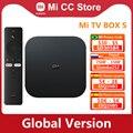 Globale Version Xiaomi Mi TV Box S 4K Ultra HD Android TV 9,0 HDR 2GB 8GB WiFi google Cast Netflix Smart Mi Box S Media Player