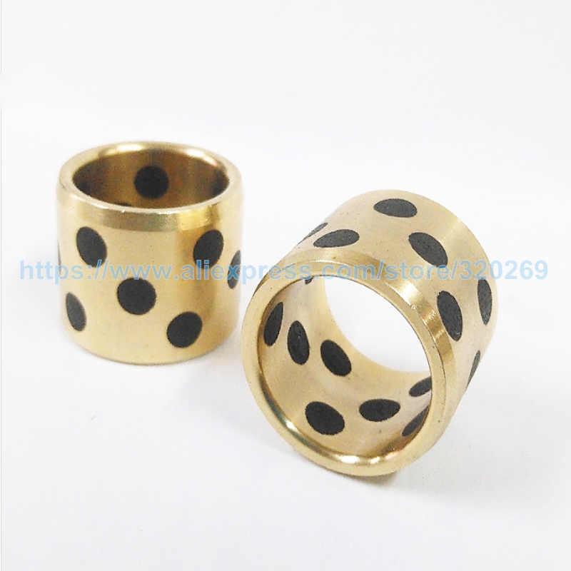 10x14x12 mm JDB Graphite Lubricating Brass Bearing Bushing Sleeve Choose Qty