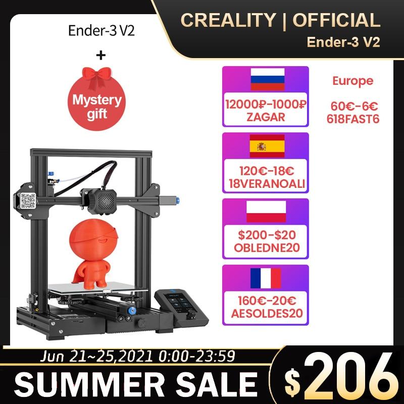 CREALITY 3D-принтеры Ender-3/Ender-3 Pro/Ender-3 V2 возобновить Мощность отказ печать бесшумный TMC2208 шаговый бренд Mean Well представляет Питание
