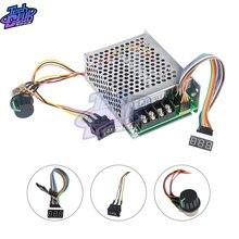Digital Display 0~100% adjustable 10-55V 60A DC Motor Speed Controller PWM 12V 24V 48V 2000W MAX 100A Reversible Potentiometer 10 30v 100a dc motor speed control pwm hho rc controller 12v 24v 3000w max