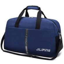 Waterproof Travel Handbags Women Men Large Capacity Cabin Luggage Organizer Shoulder Bag Simple Sport Weekend Crossbody Bag S069