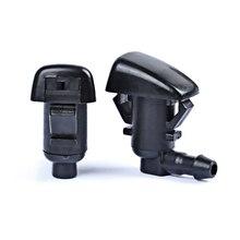 QEEPEI 2 sztuk przednia szyba dysze spryskiwacza dla GMC Acadia/Chevrolet Traverse/Saturn Outlook OEM: 25823360 rozpylacz Kit