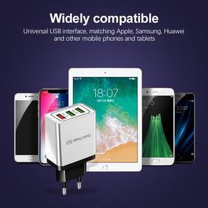 Image 5 - شاحن يو اس بي سريع الشحن 18 وات 3.0 EU US 5V 3A شاحن يو اس بي لهواتف ايفون 11 Pro Max Huawei Mate 30 Pro شاحن سفر