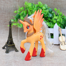 Carino Unicorno Apple Martinetti Cartoon Figura Giocattolo del PVC 14 CENTIMETRI di Alta(China)