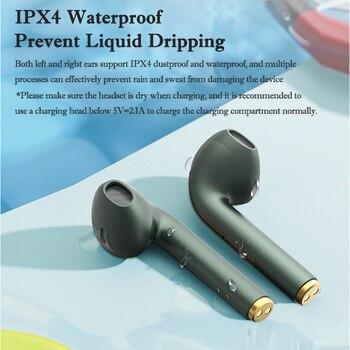 New TWS Bluetooth Headphones Stereo True Wireless Headphone Earbuds In Ear Handsfree Earphones Ear Buds For Mobile Phone 4